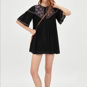 NWOT Zara Swiss Dot Dress